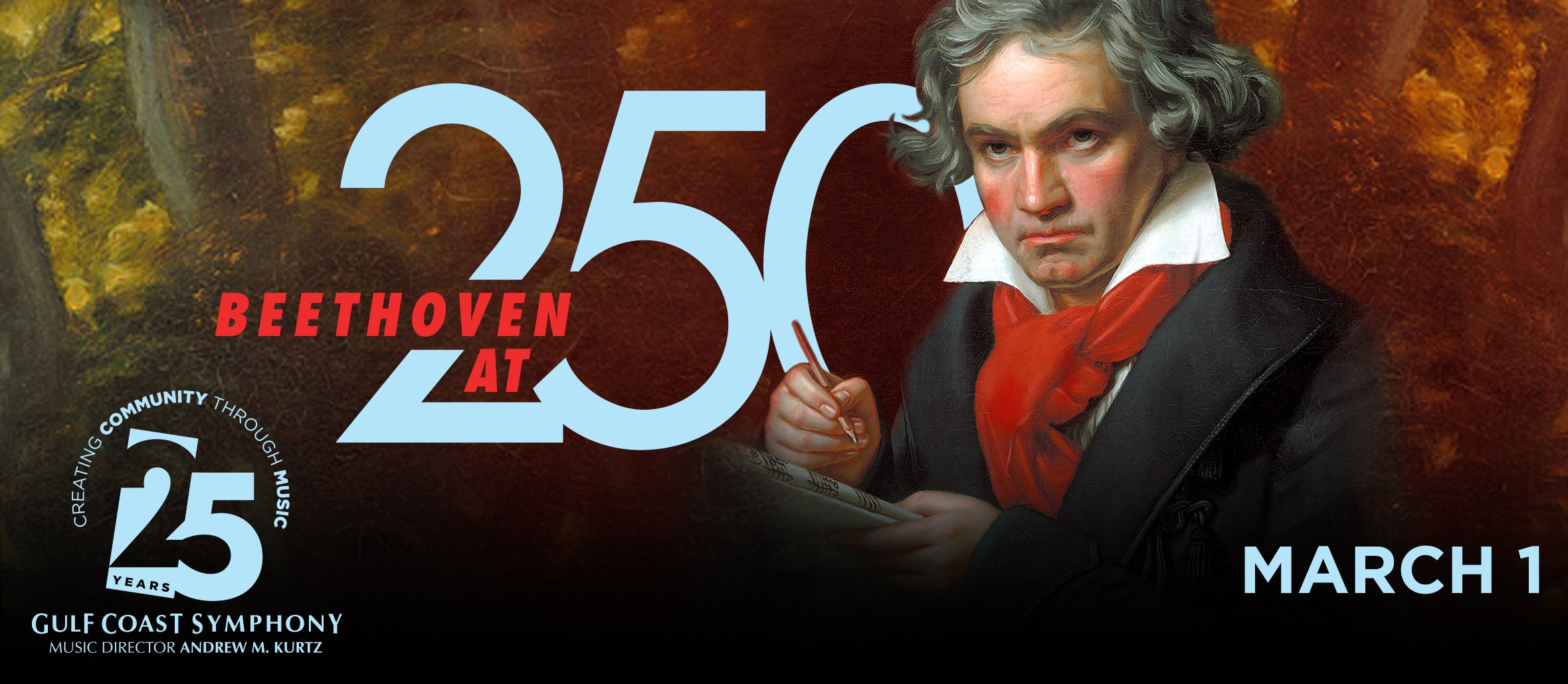 Gulf Coast Symphony: Beethoven At 250