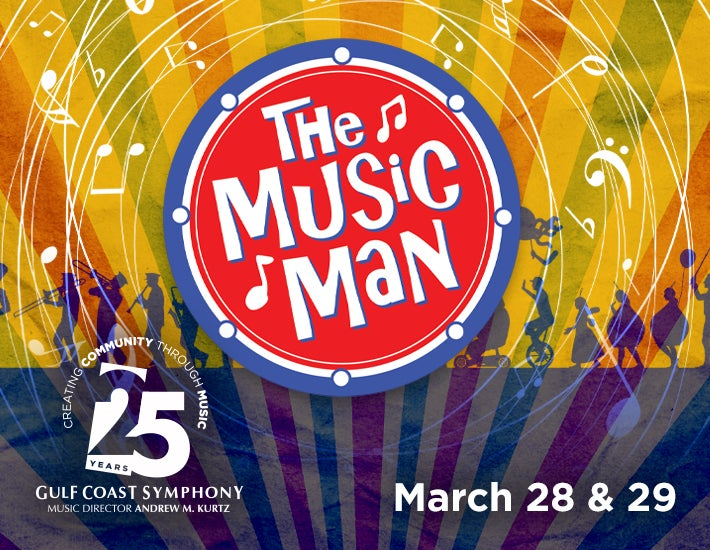 More Info for Gulf Coast Symphony: The Music Man has been rescheduled