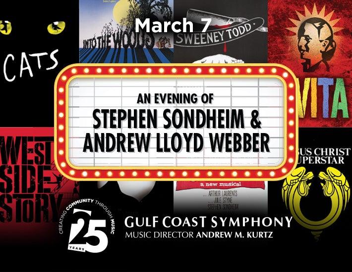 More Info for Gulf Coast Symphony: An Evening of Stephen Sondheim & Andrew Lloyd Webber