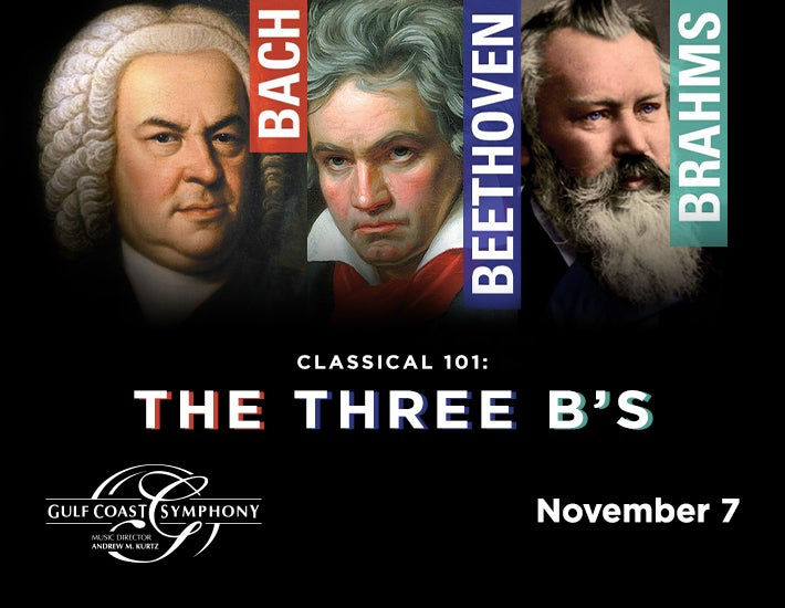 More Info for Classical 101: The Three B's   Bach, Beethoven, Brahms