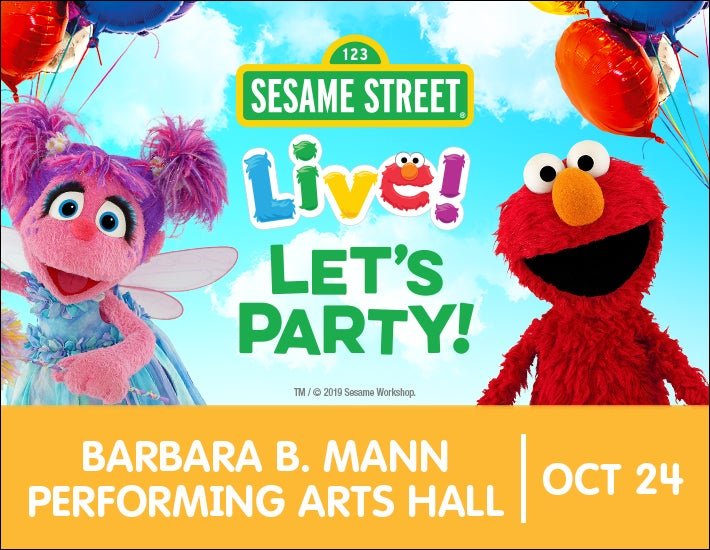 More Info for Sesame Street Live! Let's Party