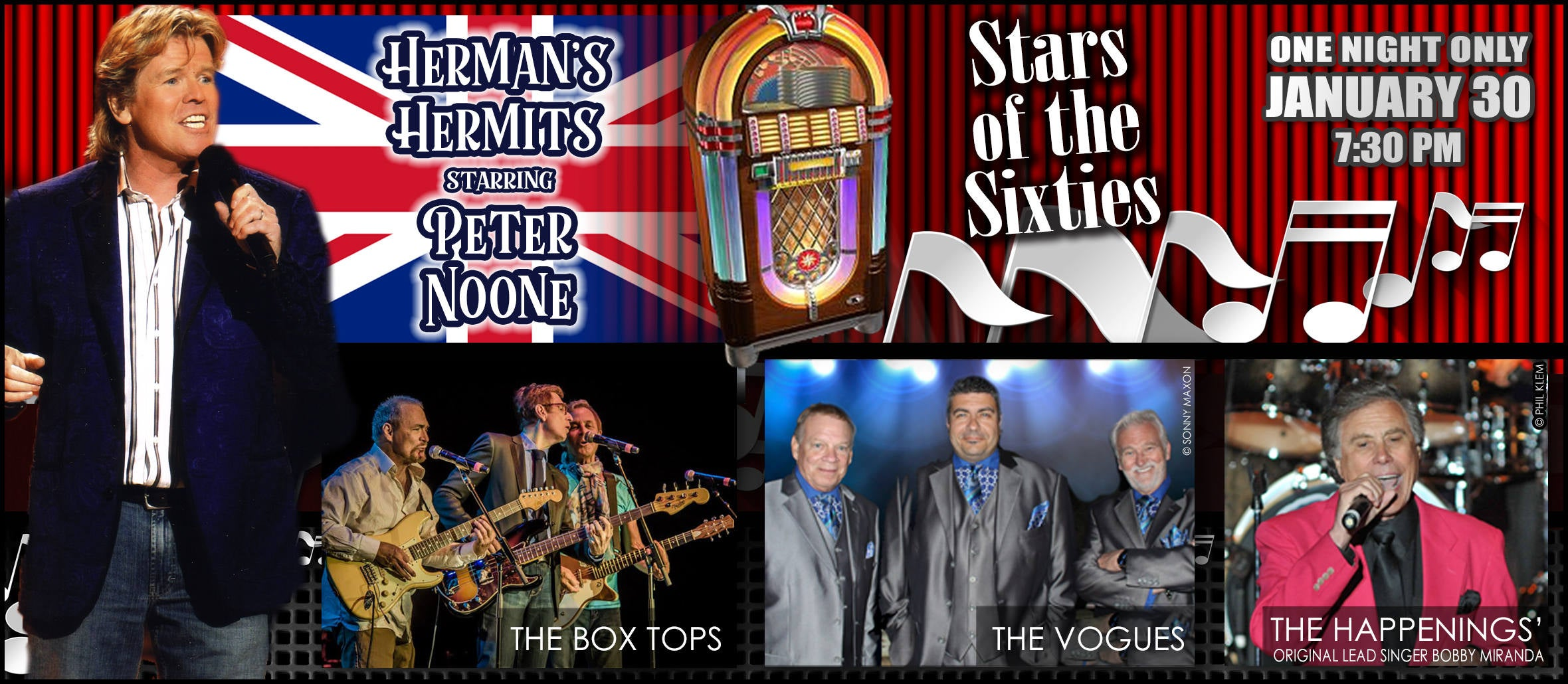 Stars of the Sixties with Herman's Hermits & More