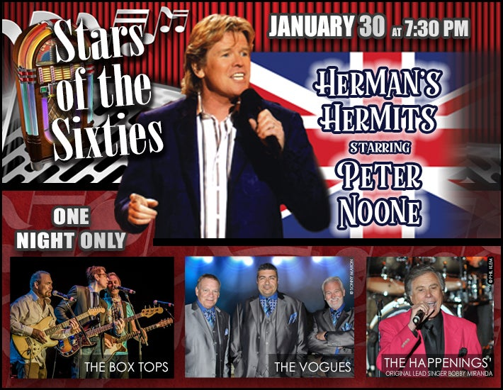 More Info for Stars of the Sixties with Herman's Hermits & More