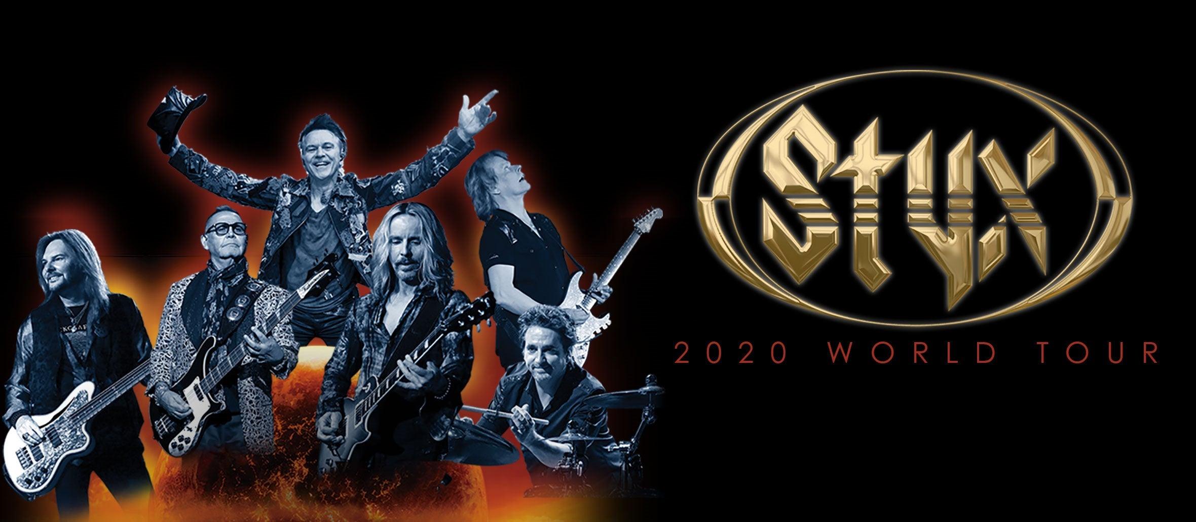 STYX 2020 World Tour