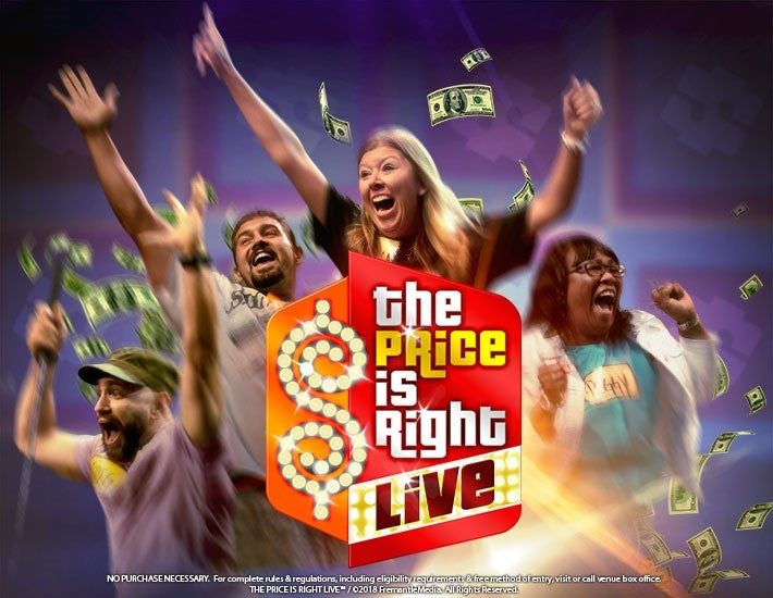 More Info for The Price is Right Live has been cancelled