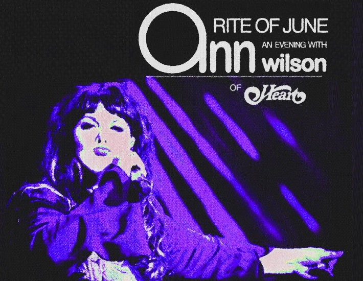 More Info for An Evening with Ann Wilson of Heart