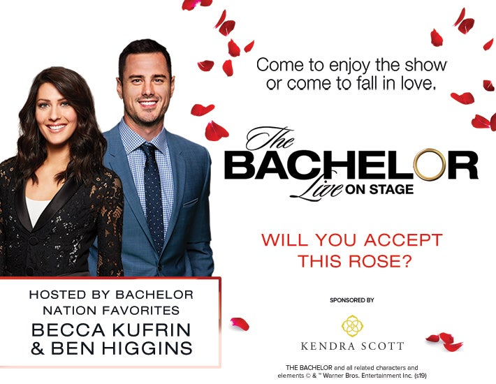 More Info for The Bachelor Live on Stage has been postponed