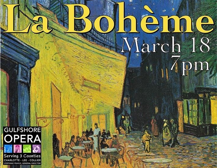 More Info for Gulfshore Opera: La Bohème