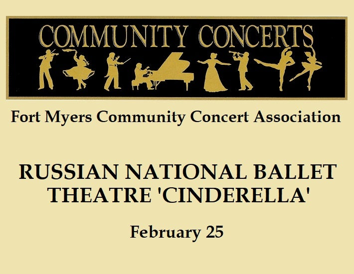 """More Info for Fort Myers Community Concert: Russian National Ballet Theatre """"Cinderella"""""""