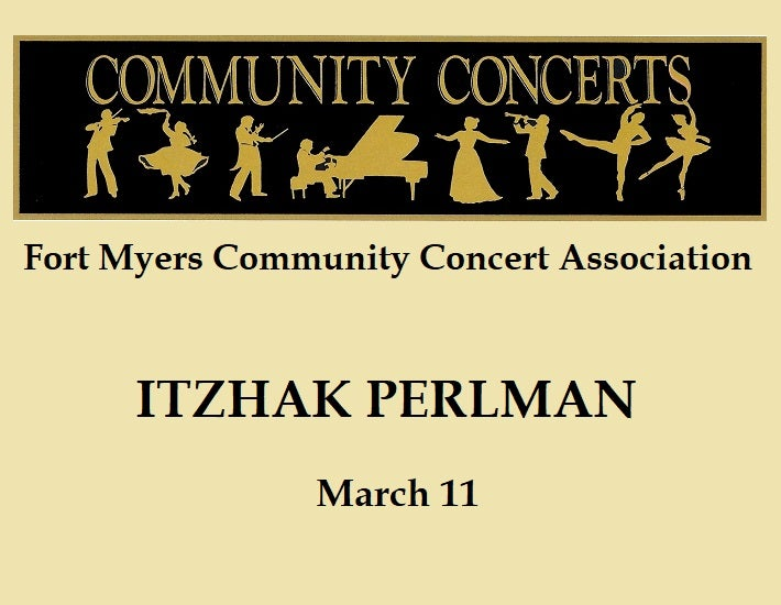 More Info for Fort Myers Community Concert: Itzhak Perlman