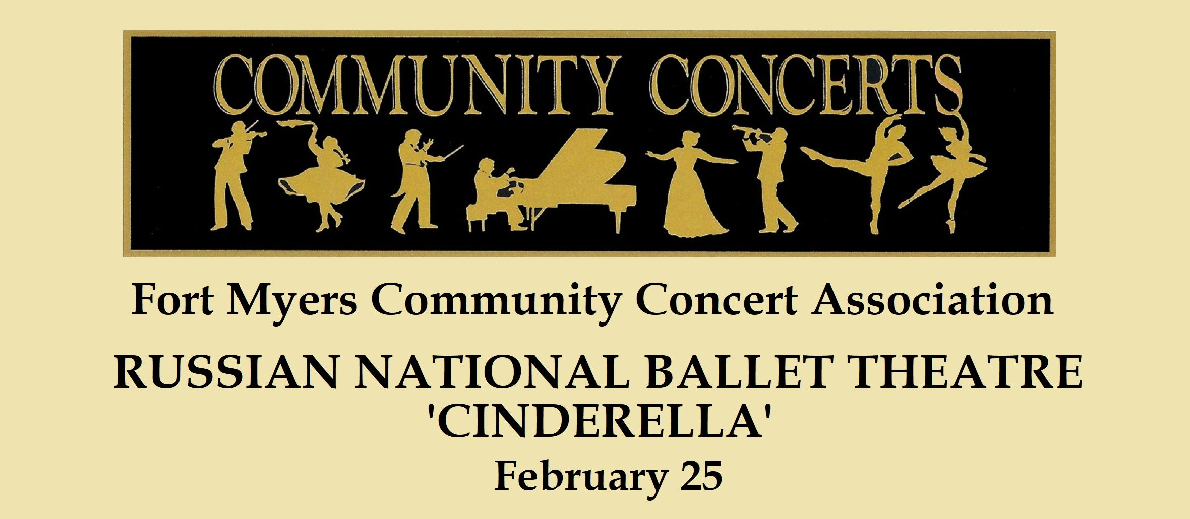 "Fort Myers Community Concert: Russian National Ballet Theatre ""Cinderella"""