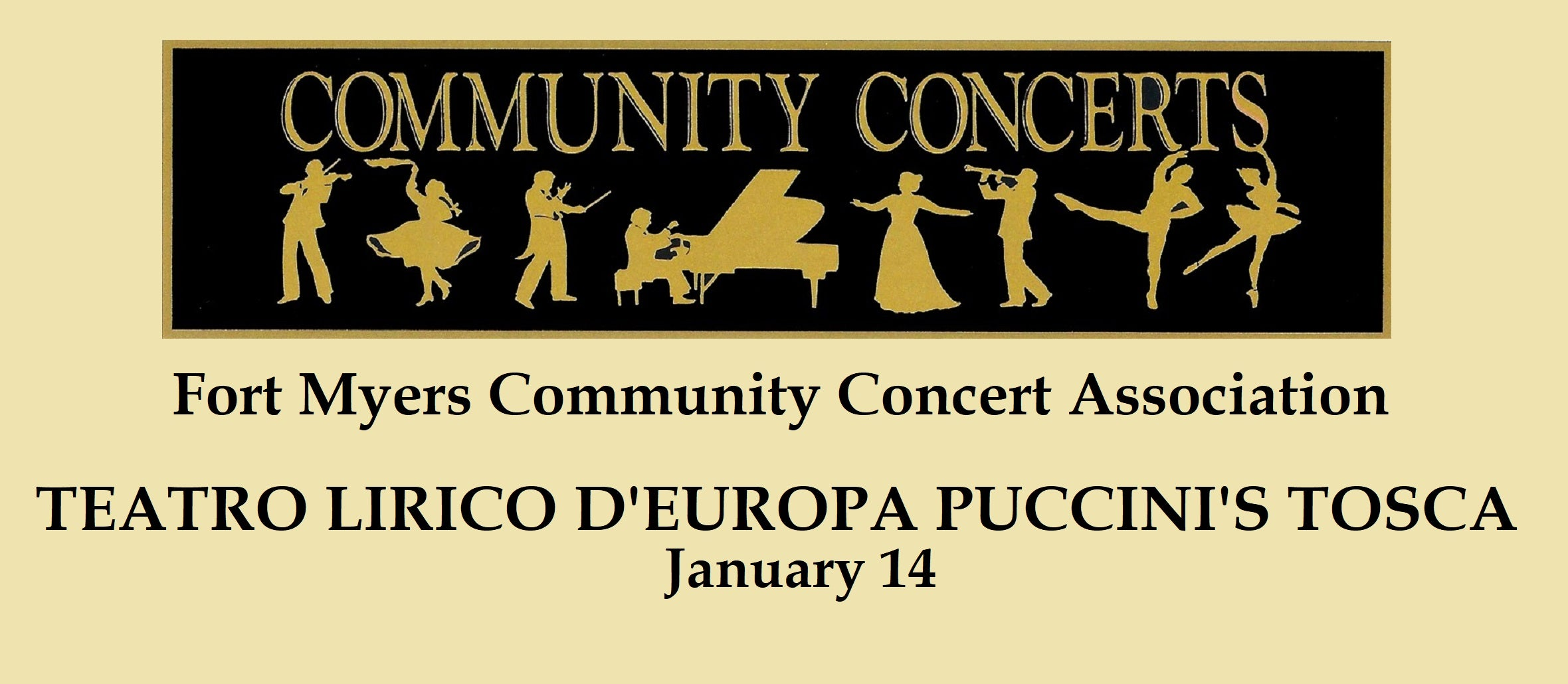 Fort Myers Community Concert: Teatro Lirico D'Europa Puccini's Tosca