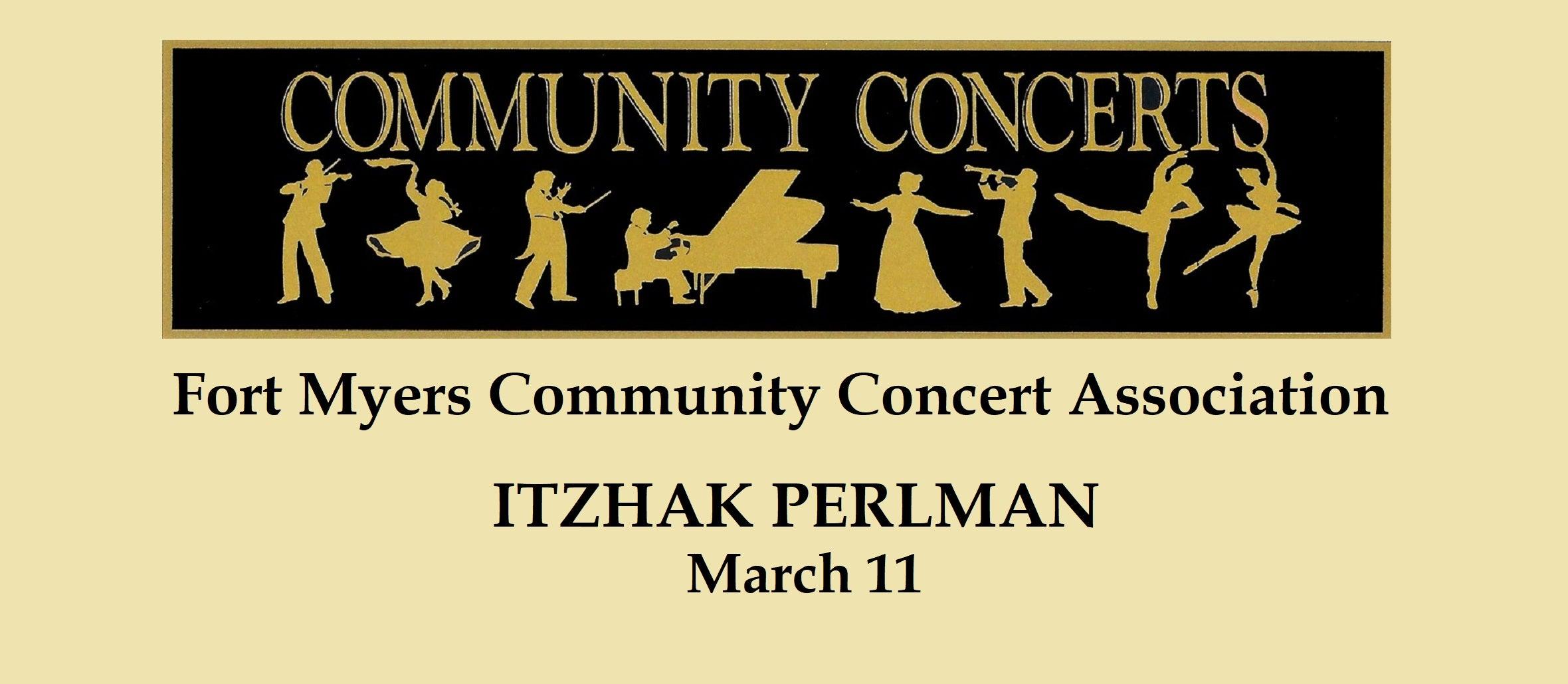 Fort Myers Community Concert: Itzhak Perlman