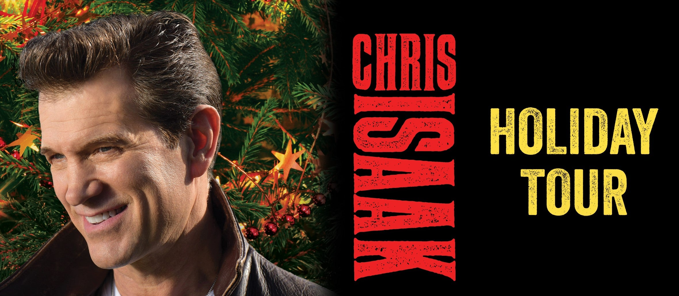 Chris Isaak Holiday Tour 2018