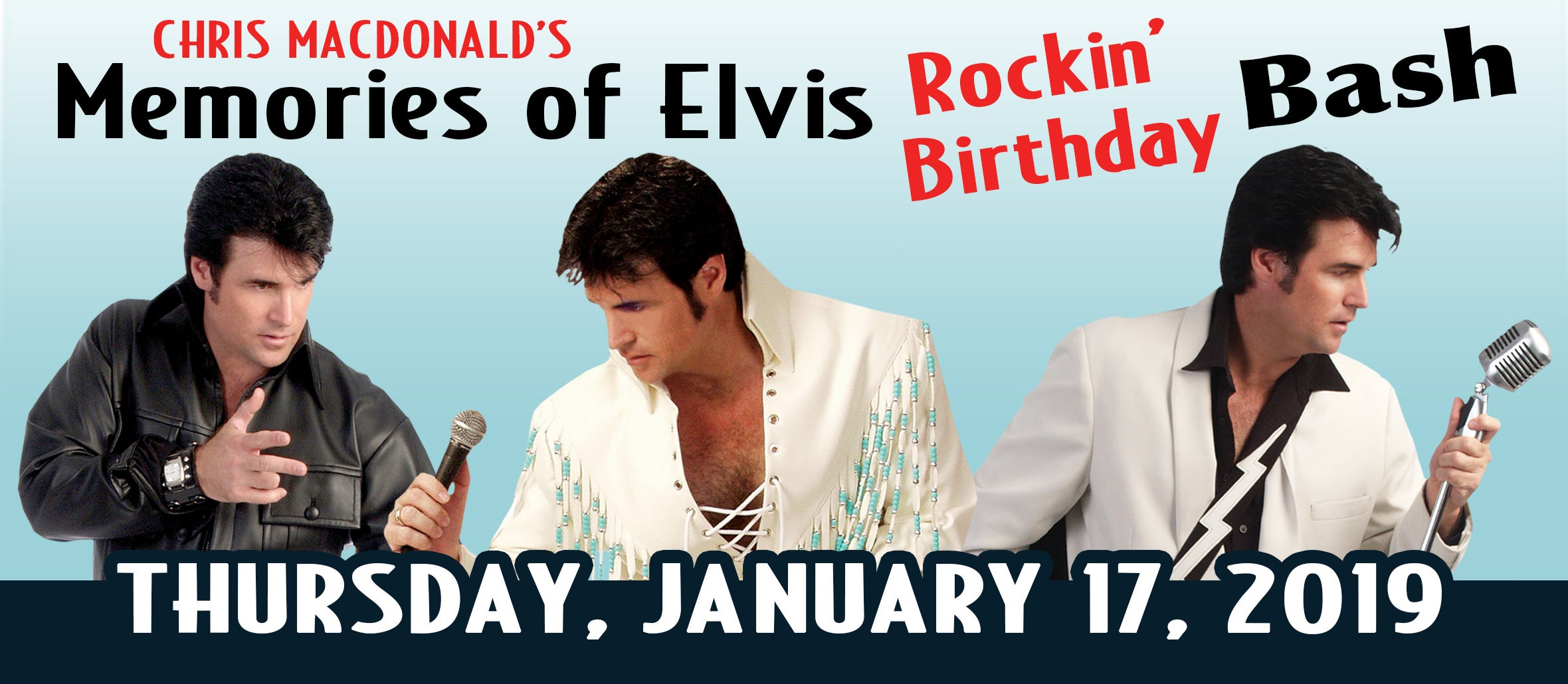 Chris MacDonald's Memories of Elvis Rockin' Birthday Bash