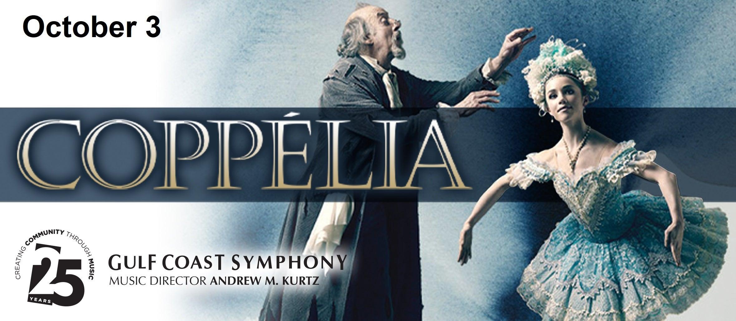 Gulf Coast Symphony: Coppelia With Gulfshore Ballet