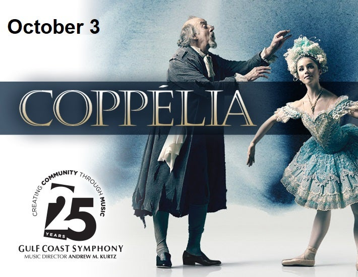 More Info for Gulf Coast Symphony: Coppelia With Gulfshore Ballet