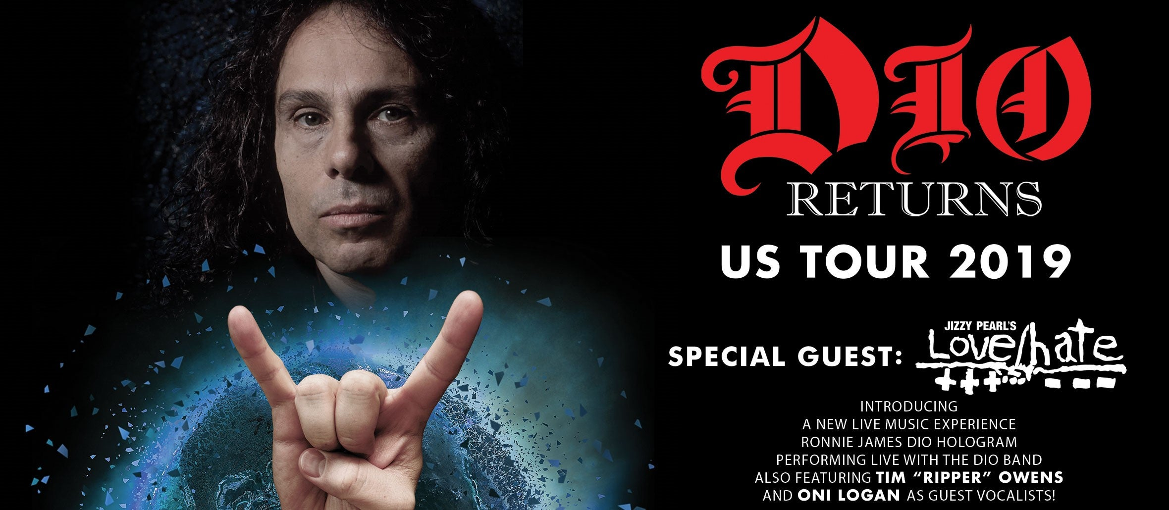 DIO Returns US Tour 2019