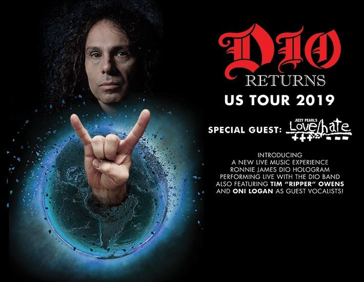 More Info for DIO Returns US Tour 2019