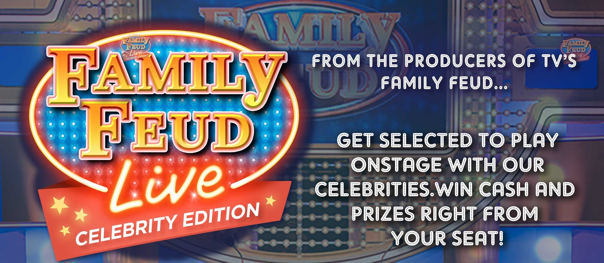 Family Feud Live: Celebrity Edition | Barbara B  Mann