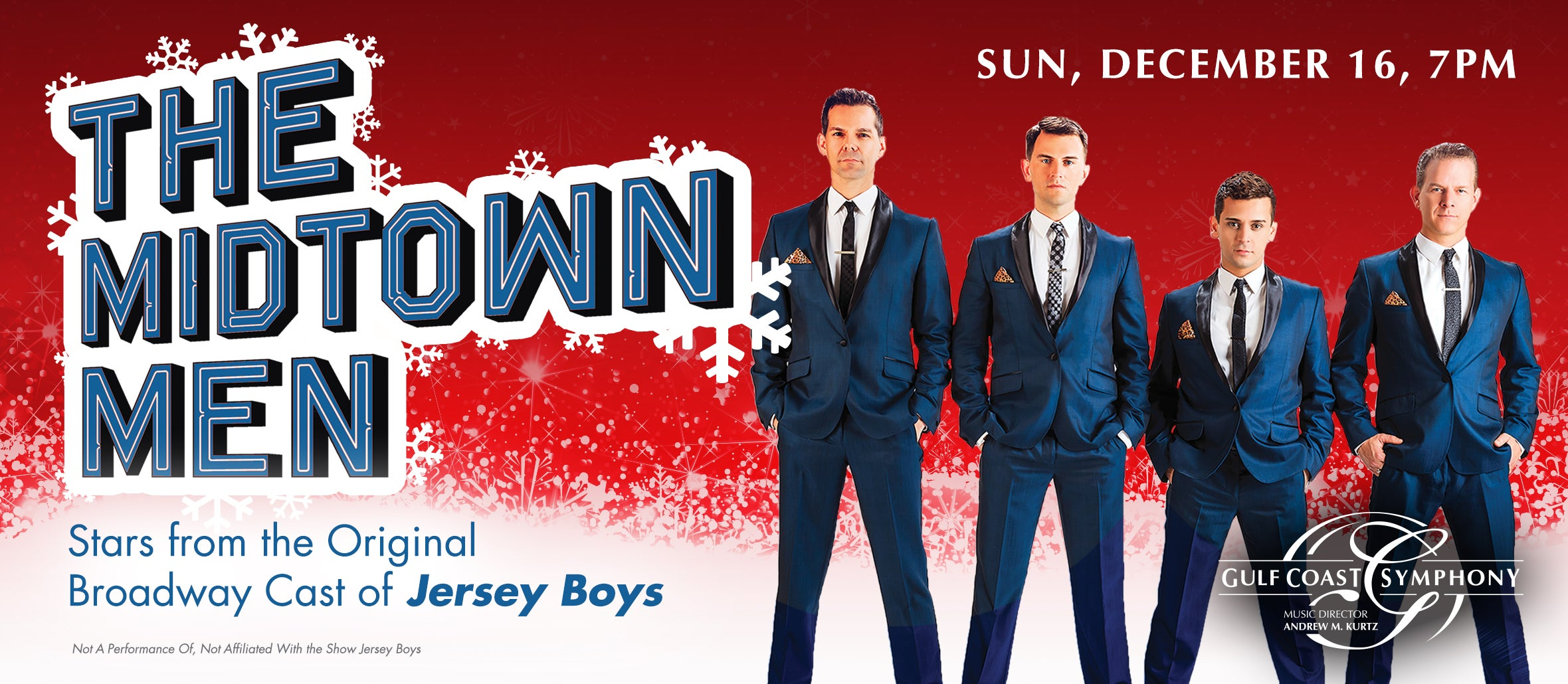 Gulf Coast Symphony: Midtown Men Holiday Hits