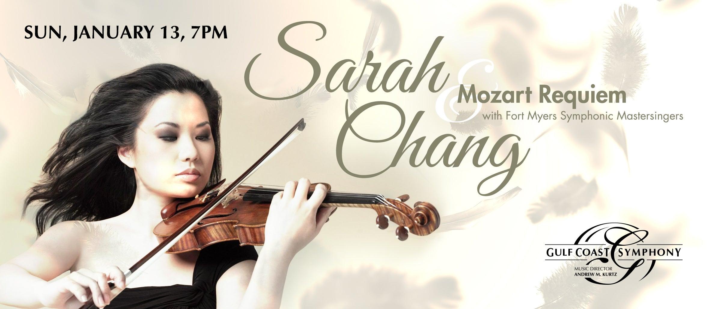 Gulf Coast Symphony: Sarah Chang Mozart Requiem