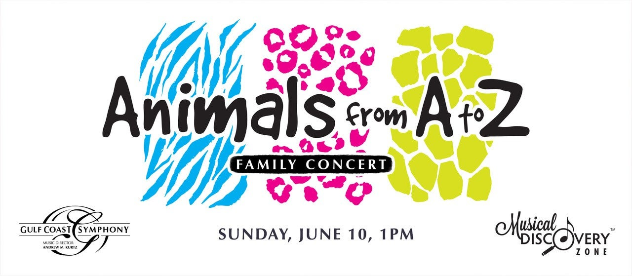 Gulf Coast Symphony: ANIMALS from A to Z Family Concert