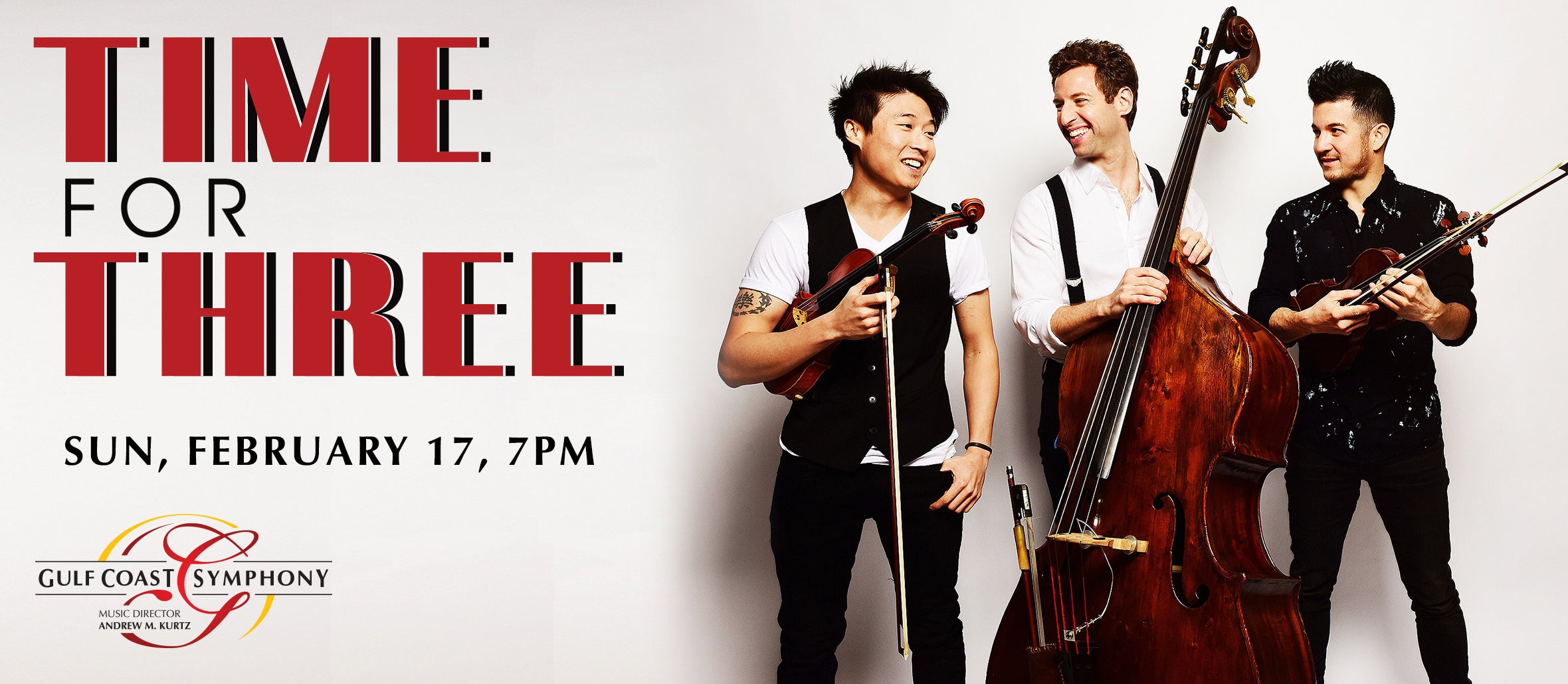 Gulf Coast Symphony: Time for Three