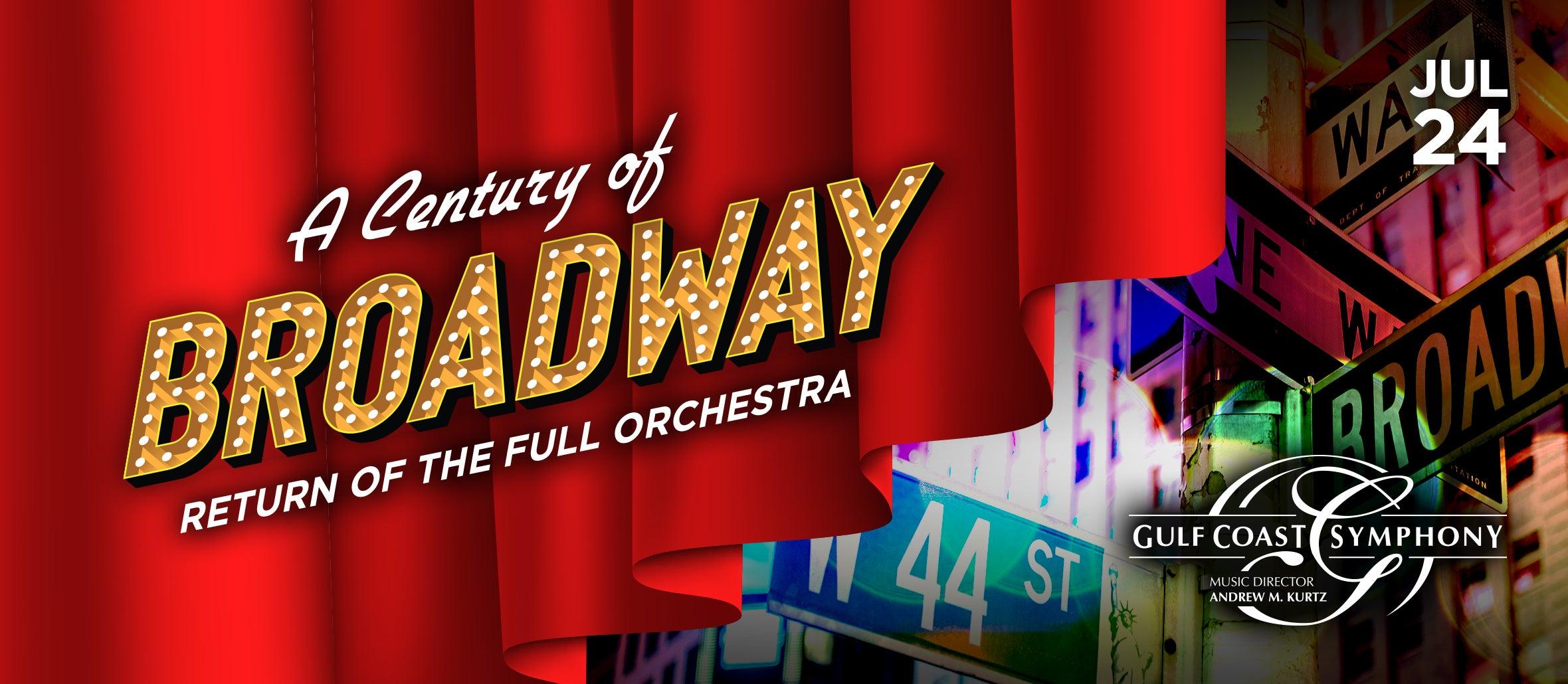 Gulf Coast Symphony: A Century of Broadway