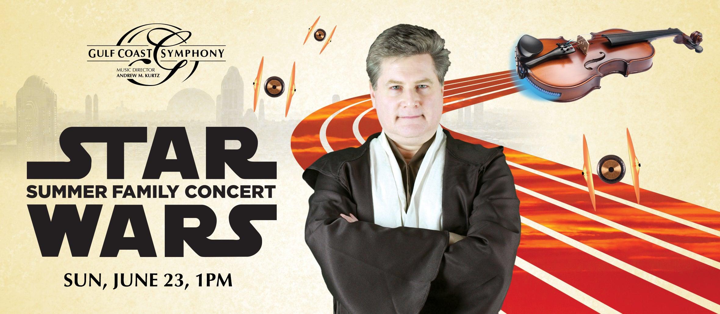Gulf Coast Symphony: Summer Family Concert | Barbara B  Mann