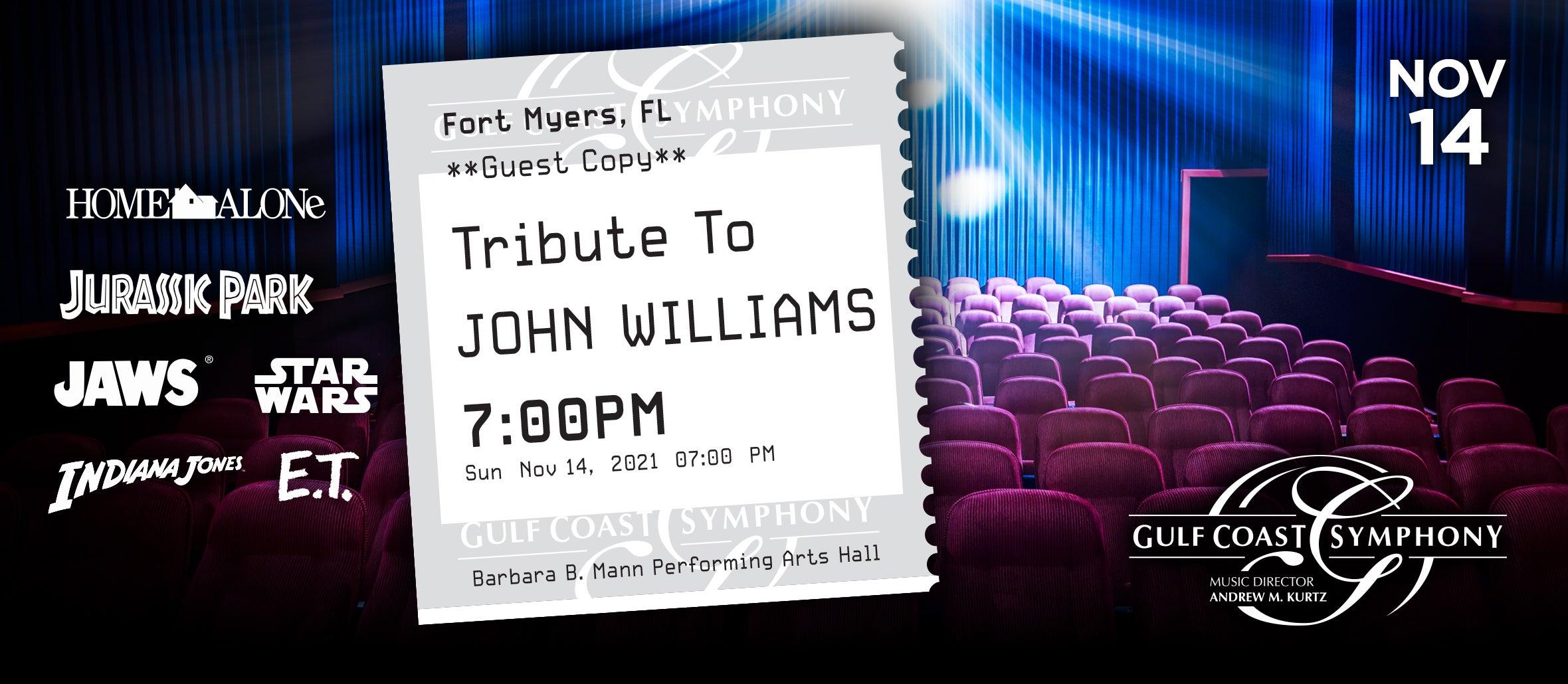 Gulf Coast Symphony: A Tribute to John Williams