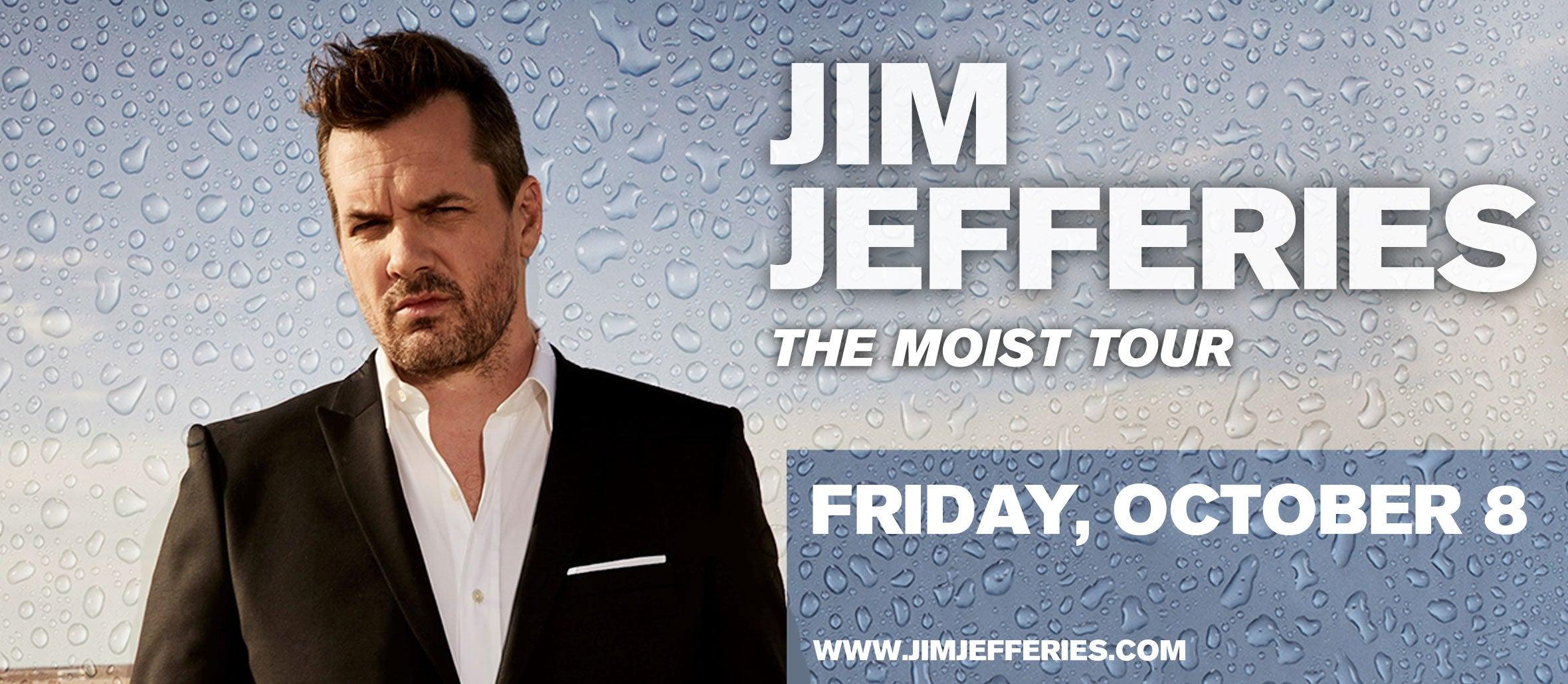 Jim Jefferies: The Moist Tour