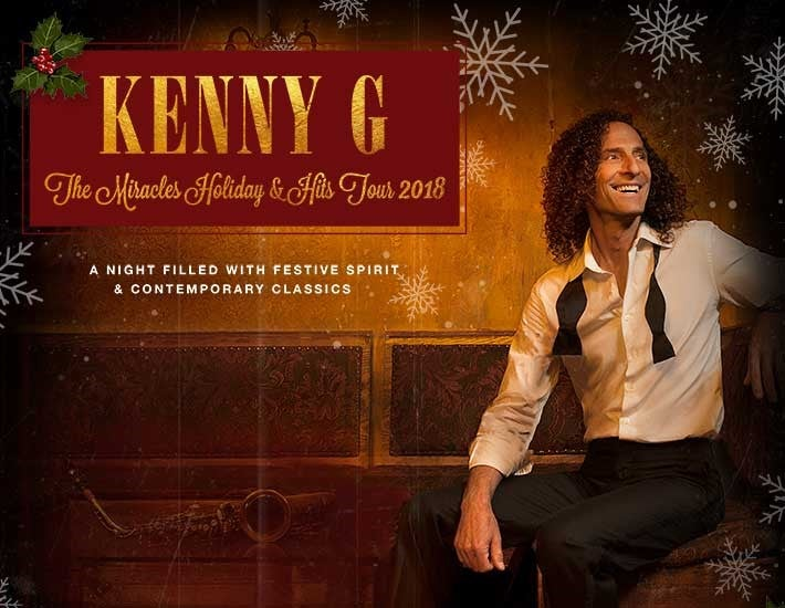 More Info for Kenny G - The Miracles Holiday & Hits Tour 2018