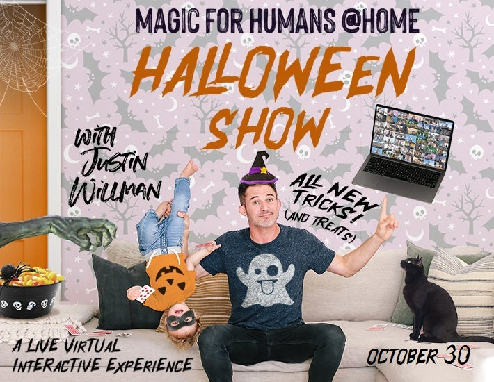 More Info for MAGIC FOR HUMANS @HOME with Justin Willman