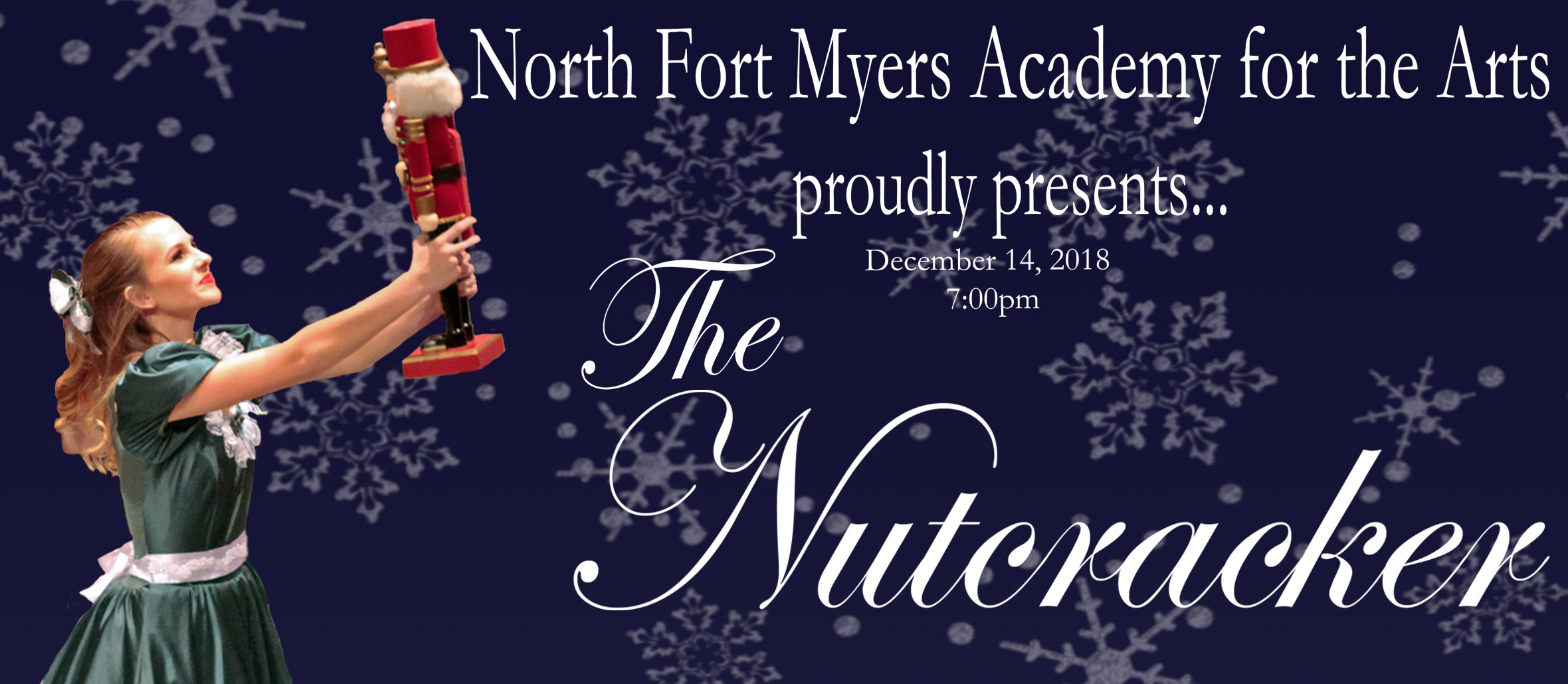 North Fort Myers Academy for the Arts proudly presents The Nutcracker