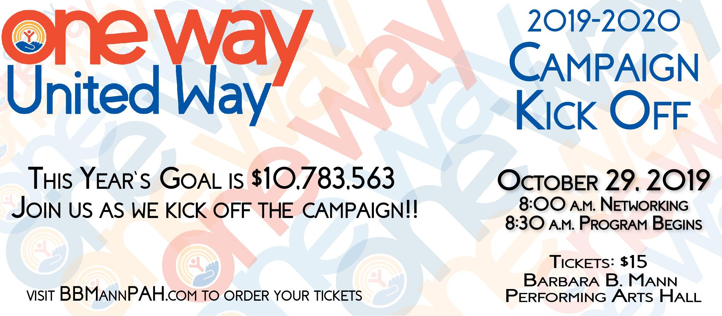 United Way Kickoff Campaign