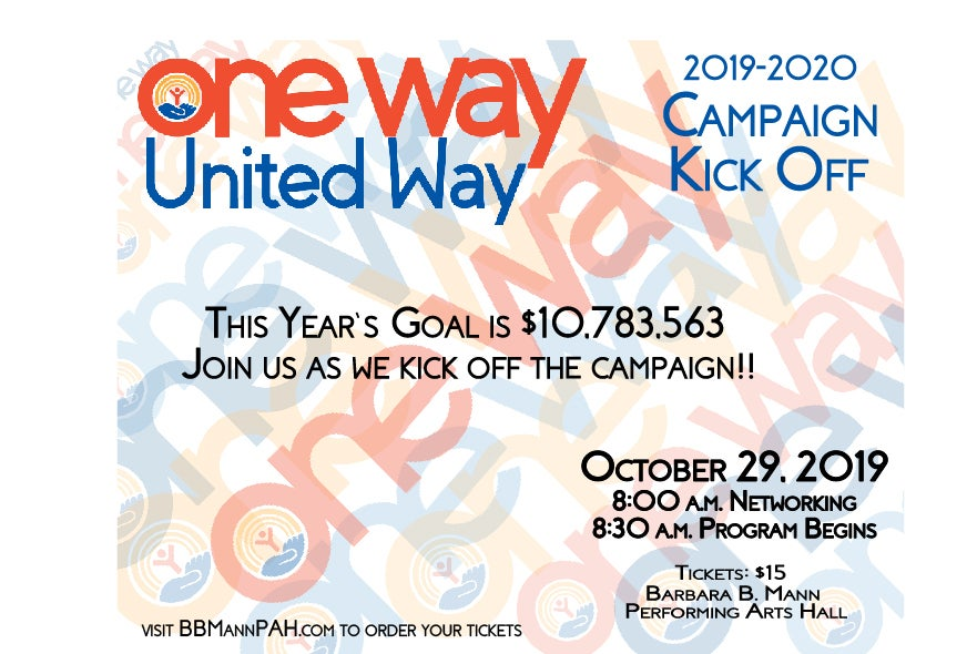More Info for United Way Kickoff Campaign