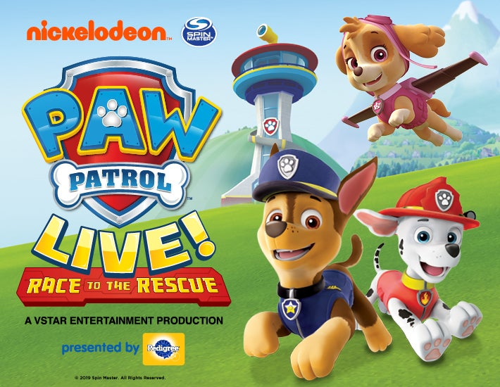 "More Info for Paw Patrol Live! ""Race to the Rescue"""