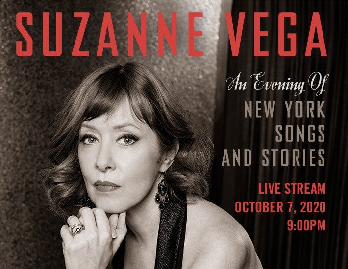 """More Info for Suzanne Vega Live Stream Event: """"Suzanne Vega Live from the Blue Note"""""""