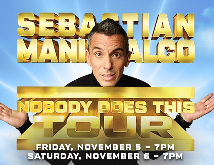 More Info for Sebastian Maniscalco - Nobody Does This Tour