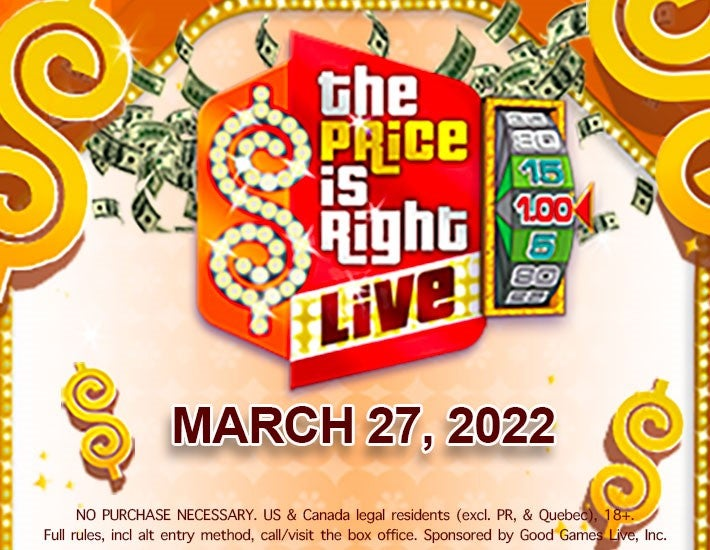 More Info for The Price is Right Live™