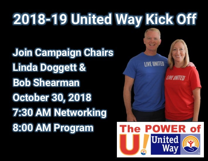 More Info for United Way Kick Off